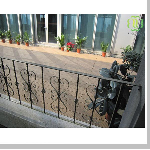 Композит плитки, настил/плитка, балкон/открытый палубе плитк.