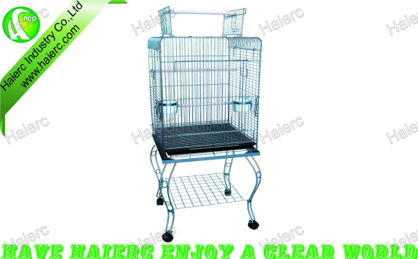Stainless steel parrot cage