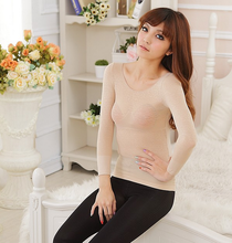 Women Sexy Thermal Underwear Winter Long Johns Slimming
