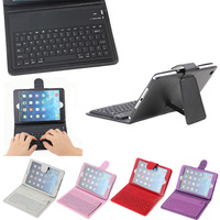 Multicolor Bluetooth Keyboard for iPad Mini 1/2/3 with holder,factory price