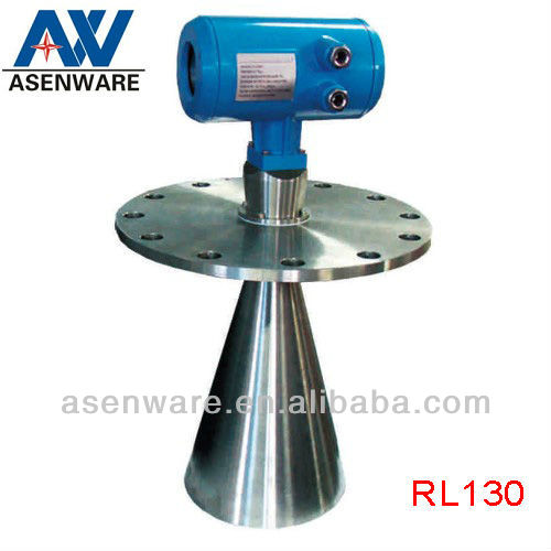 CE,High Frequency Digital Guided Horn Antenna Radar Level Sensor for Grain Bin,Oil Tank,Melt,etc(RL130)
