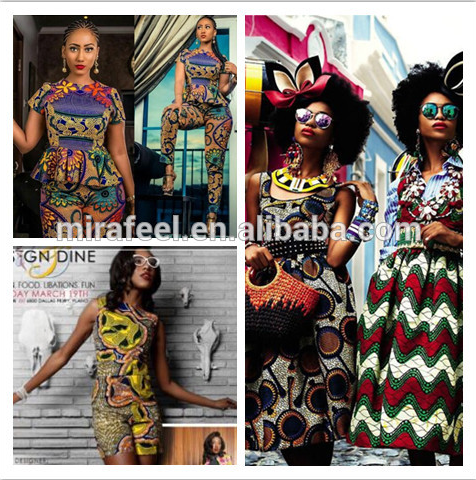 V283 wholesale african real african cotton digital printed ankara fabrics