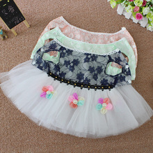 Wholesale spring and summer dog skirt teddy princess skirt dog wedding dress pet clothes