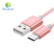 2017 New Mobile Phone Hot Sale Metal Braided Usb Type-c Cable 3.0 For Charging And Data Transfer