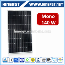 hight quality material 140 watt solar panel pv inverter for 140w solar panel cheap price 12v 140w solar panels made in China