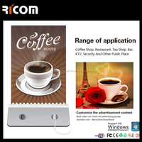 Ricom Patent restaurant menu power bank,coffee shop power bank,power bank coffee for mobile phone--PB101--Shenzhen Ricom