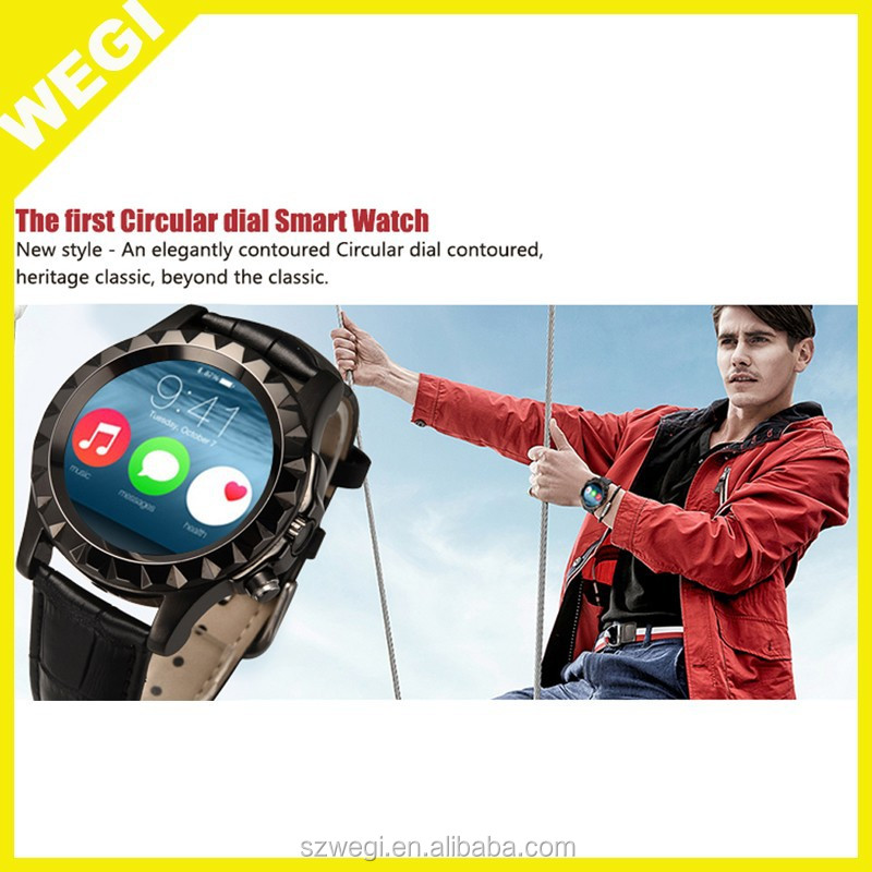 2015 T2 S2newst round smart watch camera smart watch Heart Rate monitor smart watch smart WristWatch For Android SmartWatch