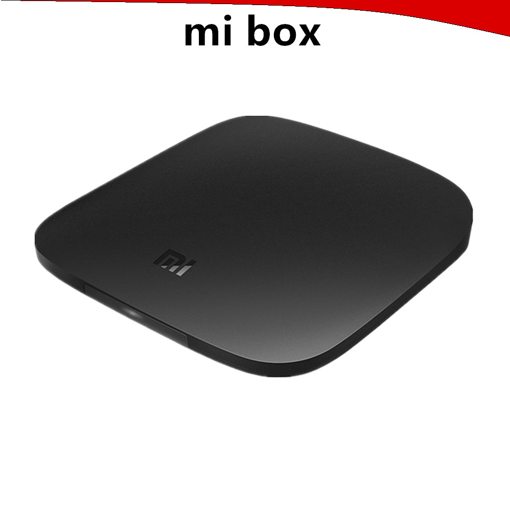 Original Xiaomi Mi Box 3 Android 5.0 TV Box 1G 4G Dual Band WiFi Bluetooth 4.1Smart TV IPTV Media Player Set Top Box