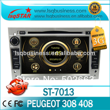LSQ Star 7 Inch Touch Screen Car Radio Gps For Peugeot 308 408