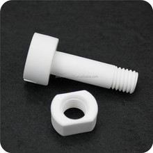 high temperature resistance 95 alo3 alumina ceramic screw nuts