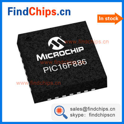 (IC chips) PIC16F886-I/ML QFN-28