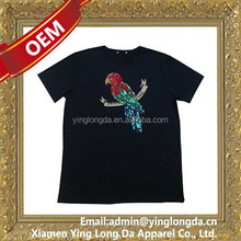 Quality new coming customized made modal cotton t-shirt