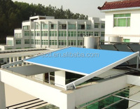 Hot Sale Sunshade Aluminum Retractable Skylight For Glass Roof