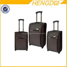 Super quality exported colorful hard shell wheeled luggage