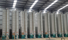 New batch circulating wheat tower grain dryer