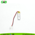 Small rechargeable lipo polymer li-ion battery 3.7V 350925 55mah for Bluetooth devices