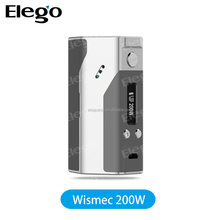 Wismec Reuleaux 200W/Wismec Presa 40w/Wismec Presa 75w, USA made DNA 200 EVOLV chip WISMEC Reuleaux