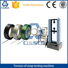 POLYESTER PET POLYPROPYLENE PP STRAPPING BAND BELT STRAP TENSION TENSILE BREAKING STRENGTH TEST MACHINE