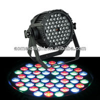 54pcs*3W Waterproof LED Par Light/outdoor par light
