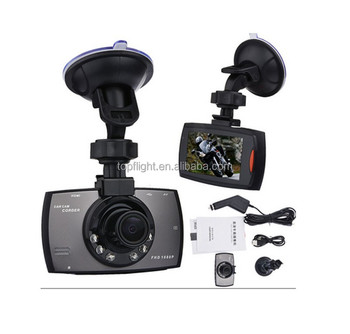 2.7 Inch LCD Screen Car DVR Vehicle Dash Cam Video Camera Recorder Novatek 96620 Chipset G30 G90