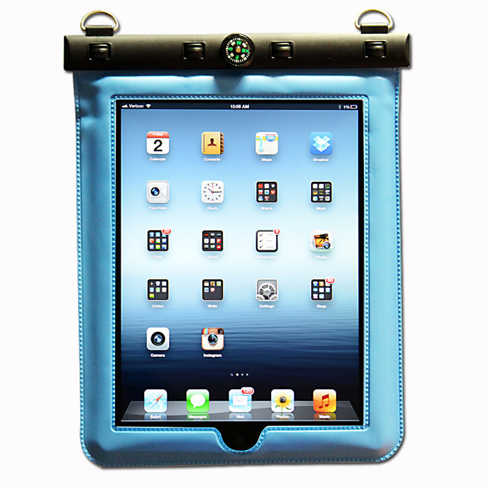 Waterproof Pouch For Apple iPad Waterproof Pouch Sleeve Case / Bag For Apple iPad Underwater Diving Bag