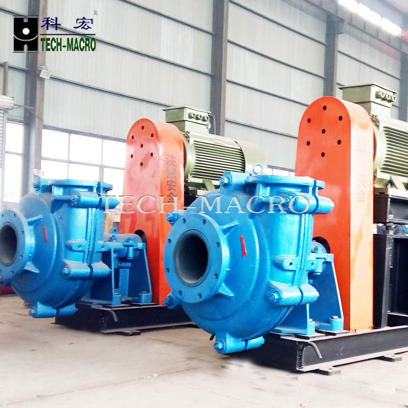 Motor Driven Hydraulic Ash Slurry Pump L(R) Series for gypsum, phosphoric acid