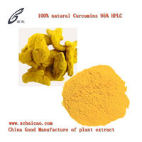 Natural Water Soluble Curcumin 95% HPLC
