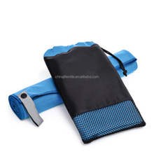 High Quality Good Water Absorption Plain microfiber suede towel,Sport beach Towel