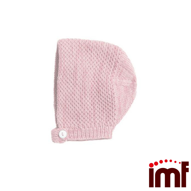 baby knit hats 100% cotton knitted newborn beanie hat