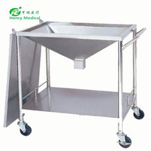 Custom printed Stainless steel medical cart surgical dressing trolley