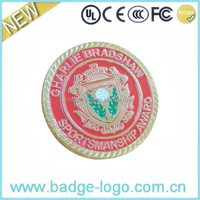 Great Wall of China Fashion Metal Coin