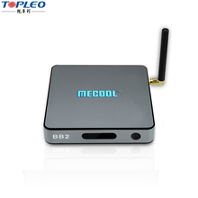 2017 Low price of Mecool BB2 Pro S912 3G 16G 3gb ram 16gb rom android tv box With the Best Quality kodi 17.0 set