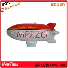 flying advertising PVC inflatable blimp with logo