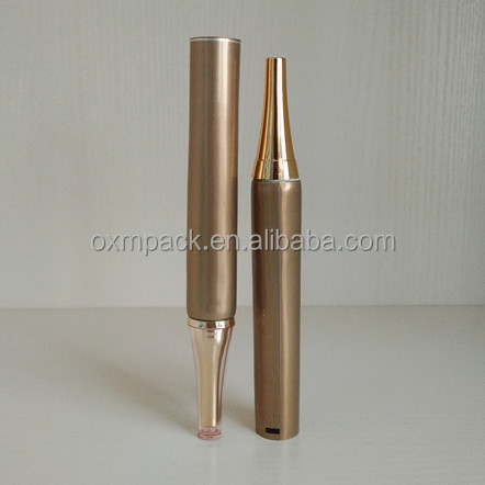 D19 MM ,Plastic empty cosmetics packaging tube,ABL tube with Nozzle Insert and horn cap for concealer