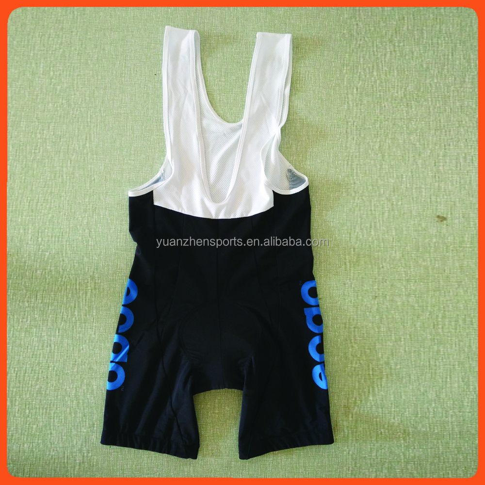design your own cycling bib shorts with your team logo and color