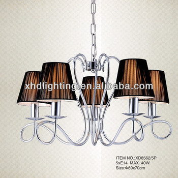 silver pendant lights chandelier for home decoration