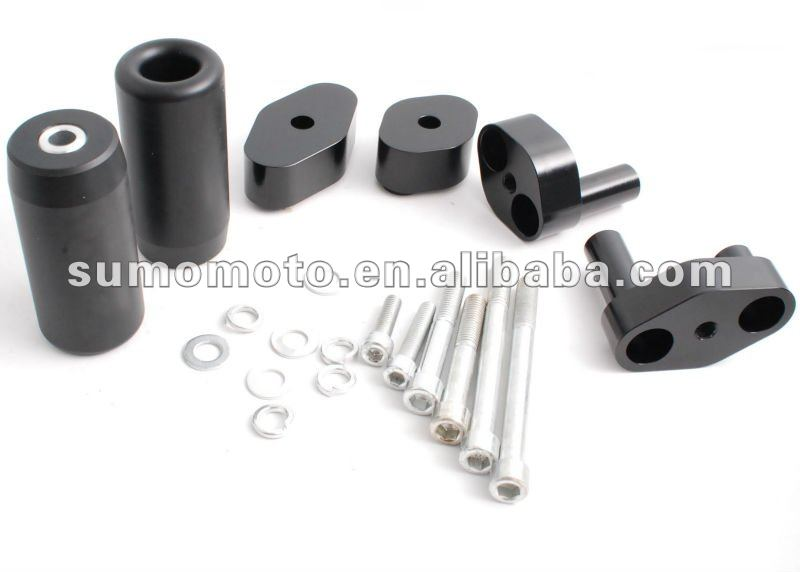Aprilia RSV Mille 04- Tuono 06 No Cut Delrin or Carbon motorcycle spare parts frame slider 750-9300
