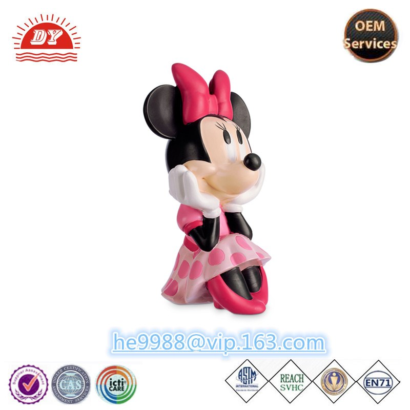 Custom High Quality Plastic Famous Cartoon Characters Figure Toy