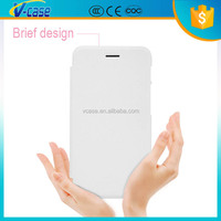 White unique design flip pu leather case for asus padfone