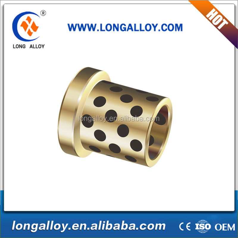oilless bronze flanged bushing for agricultural machinery