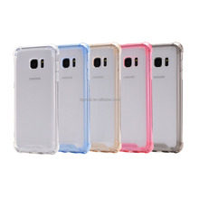 PC and silicon,PC+TPU Material for Samsung S7 edge Compatible Brand antigravity phone case