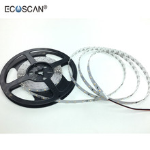 Ecoscan wholesale China supplier Waterproof DC24V 3528 flexible strip light ,2 pin led strip