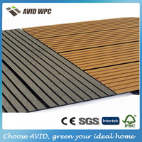 Low price and waterproof outdoor decking tile/wpc board for sale