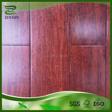 CE certified and HDF pure green Philippines red bambu flooring