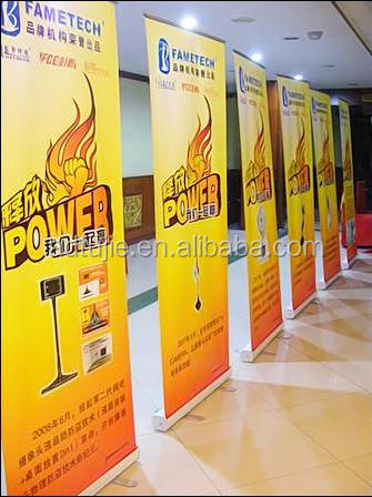 indoor advertising display digital roll up banner