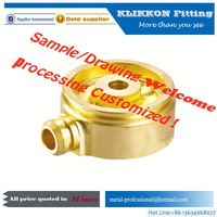 brass aluminum titanium bike part