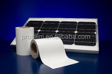 laminating TPT backsheet for solar panels