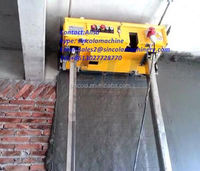 China building equipment lime plastering machine for rendering walls