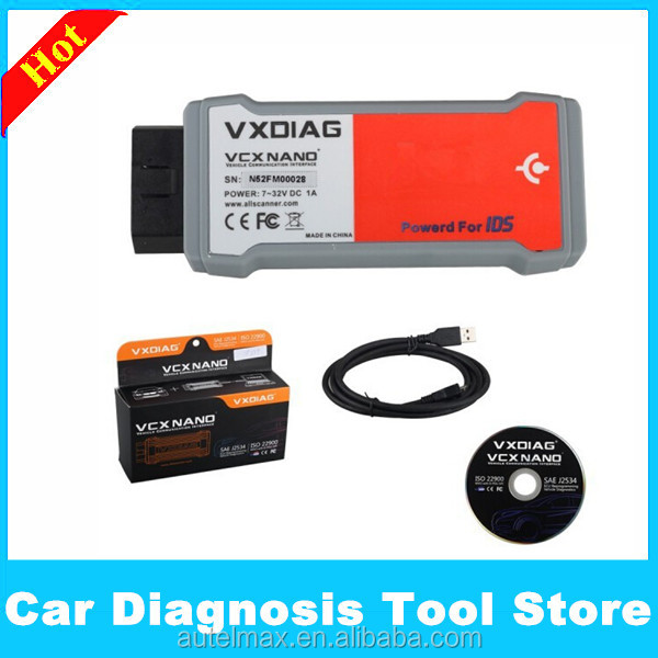 VXDIAG VCX NANO for Ford/Mazda 2 in 1 with IDS V96 for Ford IDS Scan Tool for Mazada IDS Perfect replacement for Ford VCM 2