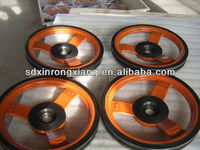 OEM foundry supply precise casting iron V belt pulley\sheave